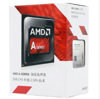 AMD APU系列双核 A6-7480盒装CPU(Socket FM2+/3.5GHz/2M缓存/65W)