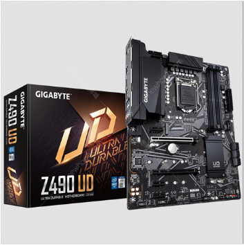 技嘉(GIGABYTE) Z490 UD 主板 支持 CPU 10900K/10700K (Intel Z490/LGA 1200)